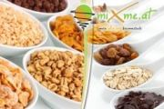 9 Euro statt 20 Euro – Mix Dir Dein gesundes Bio-Müsli aus 60 Zutaten bei miXme.at